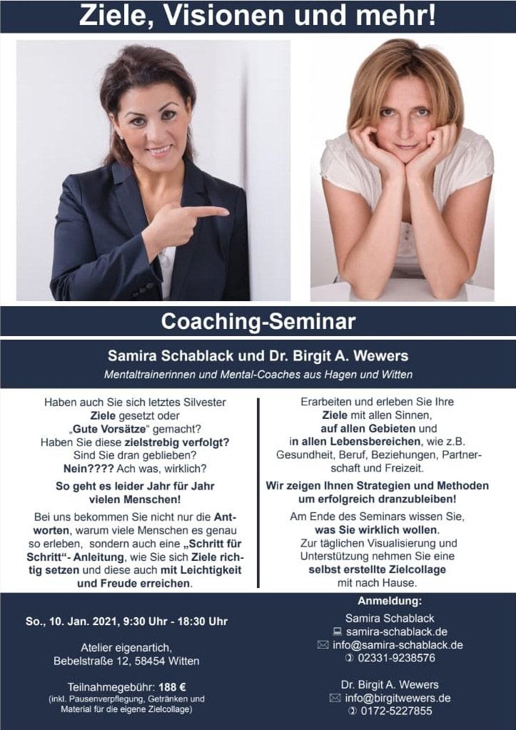Coaching Seminar 2021